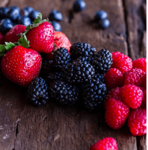 low fodmap berries